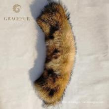 Excelente China Fornecedor OEM Serviço de Alta Qualidade Real Fox Fur Guarnição Para Capuz