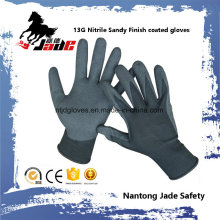 13G Nitrile Sandy Finish Coated Work Glove