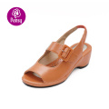 Pansy Comfort Shoes Fish Mouth Design Summer Sandals