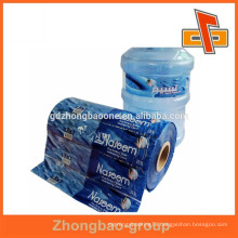 Quality and competitive price plastic printed bottled water label in rolls