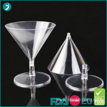 Disposable Plastic Dessert Cocktail Glasses 2oz Mini