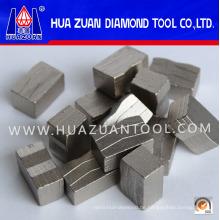Diamant-Segment für Sandstein mit mehr Präzisions-Diamant-Pulver