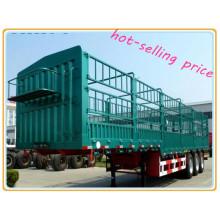 Heiße verkaufende preiswerte Preis-Stange-halbanhänger für Verkauf