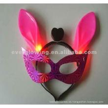 encienda para arriba las máscaras máscara que destella la venta caliente llevó la máscara del resplandor
