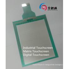 Panneau tactile résistant à la machine industrielle haute résolution