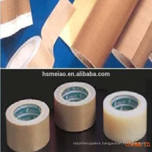 Non-stick Teflon PTFE coated fiberglass fabric adhesive tape