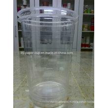 Grande capacité en tasse en plastique transparent de 34 oz avec une bonne qualité