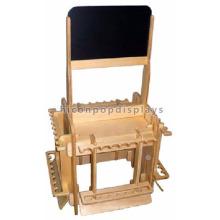 Изготовленный на заказ инструмент спортивного магазина розничной торговли 4-полосные напольные древесины или MDF Материал Гольф-клуб стенд