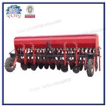 Plantador de 24 filas de trigo con neumáticos