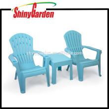 Adirondack de adultos que apilan la silla de Tabel fijada con el sostenedor de dos tazas