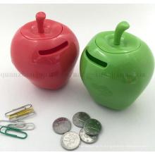 Tirelire Box en plastique pour Apple Bank en plastique