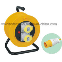 Heavy Duty 16A 230V Industrial Power Cable Reel IP44