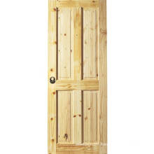 Apartment Modern Interior Knotty Alder Door Made in China