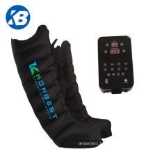 Certified 8 Chambers Pneumaticair Relax Pressure Compression Recobery Boots Limbs Leg Massager for Circulation