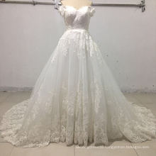 off Shoulder Applique Ball Bridal Wedding Dresses