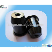 black cnc aluminum anodized trike bike parts with polishing surface