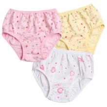 Ropa interior de las muchachas del verano 2-9 años de ropa interior de los cabritos