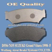 D556 SUZUKI plaquettes de frein à bas métal de Grand Vitara 1998- F