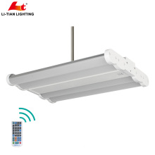 ETL High lumen Dimming 0-10V Emergency 130lm/W optional motion LED High bay light 100w 140w 200w 300W