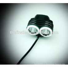 Многофункциональный высокой мощности 1800Lumens 2XCREE XML T6 светодиодные велосипедные огни с Аккумуляторная батарея 18650
