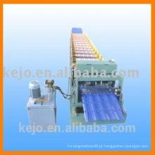 Fabricantes de máquinas de moldagem de rolo de aço a cores