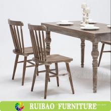 2016 nuevo estilo caliente comedor comedor muebles silla peso de madera