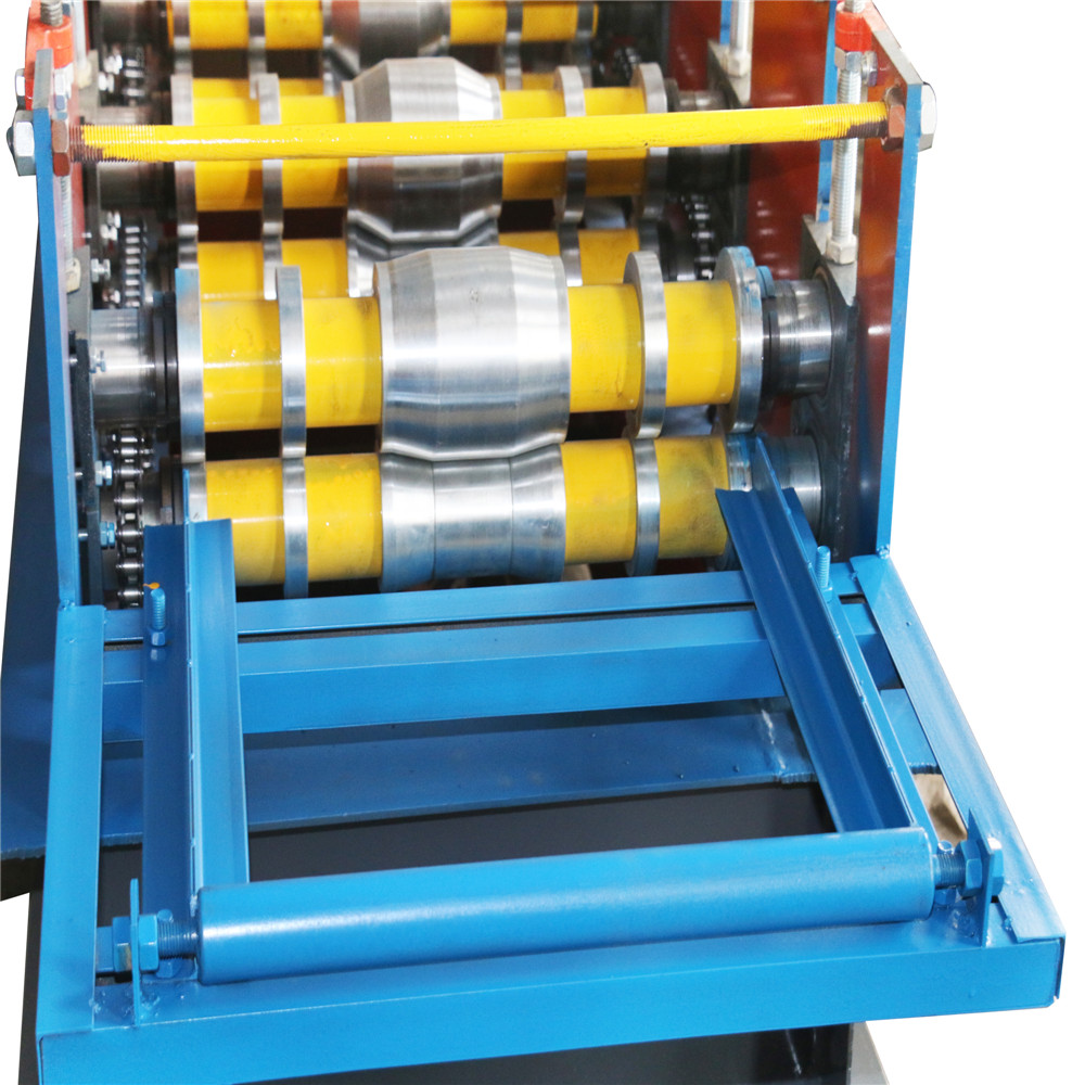 Ridge Cap Panel Roll Forming Machine