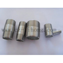 "1-1 / 2 ""aço inoxidável 316L DIN2999 Pipe Fitting Barrel Nipple"
