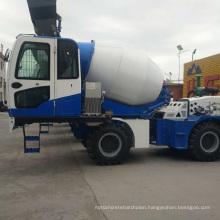 Discharging Concrete Mixing Truck on Sale 3.6m3