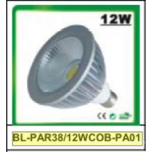 Projecteur à DEL COB 12 W à intensité réglable / non-dimmable