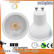 GU10 Светодиодное освещение для дома Светодиодный диммированный Soptlight