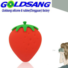 Korean Cute Silicone Strawberry Key Bag/Pocket Bag