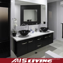 Middle East Style Melamine Bathroom Cabinets Mirror Vanity (AIS-B015)