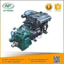 SY499Y-1 4-цилиндровый 65kw с водяным охлаждением 4-цилиндровый дизельный двигатель лодки