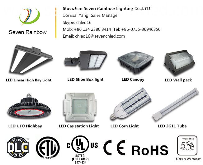 Seven Rainbow Commercial Warehouse Industrial Led Lighting