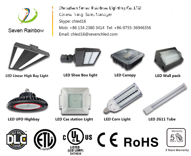 7Years Warranty Commercial Warehouse Lighting