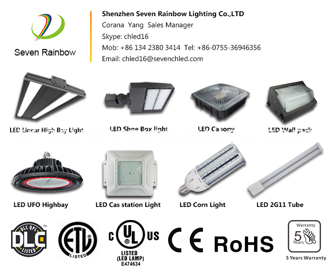 Seven Rainbow Led Canopy Lights