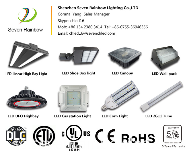Led Linear High Bay 320W ETL DLC Listing