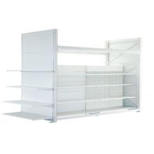 Selling Popular adjustable metal shelving,metal white gondola,display rack