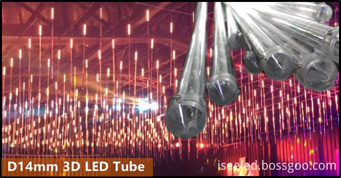 disco RGB SPI 3D Tube