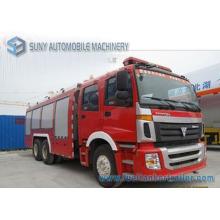 Camion de combat d'incendie de réservoir d'eau et de mousse de réservoir de Foton 12m3 6X4