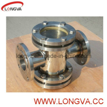 Industrail Stainless Steel Double Window Sight Glass