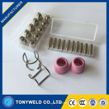 24pieces AG60 kits for nozzle electrode shield for plasma cutting torch