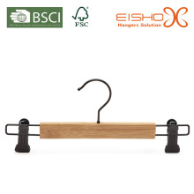 Wholesale Bamboo Pant Hanger with Clips (MB02)