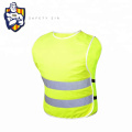 High Visibility Yellow Safety Workwear Vest Sew on Reflective Fabric Tape reflective safety Vest /Clothes