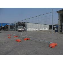 Temporärer Metallzaun Crowd Control Zaun / Bau Temporärer Zaun / Galvanisierter Australien Temporärer Zaun