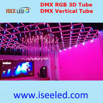 Music Activated Led Rgb Dmx Madrix Tubes 3D