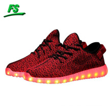 2016 New style colorful running sport led shoes women led lights for shoes