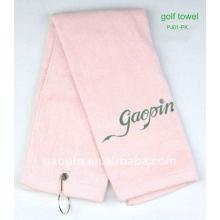 Toalla de golf suave 100% algodón