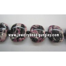 Square Ceramic beads for jewelry making